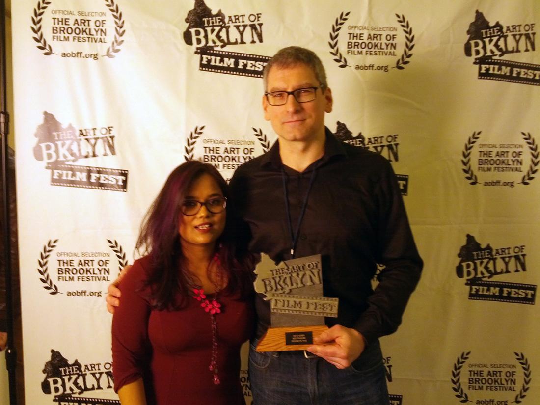 Director Arthur Vincie and Debarati Biswas