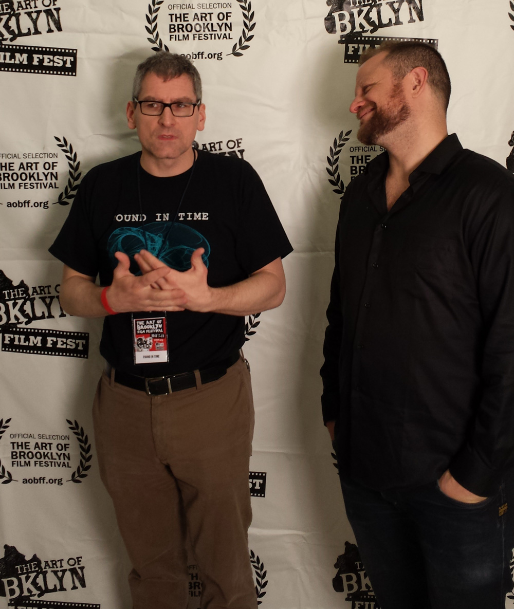 Director Arthur Vincie and Actor Adam Feingold