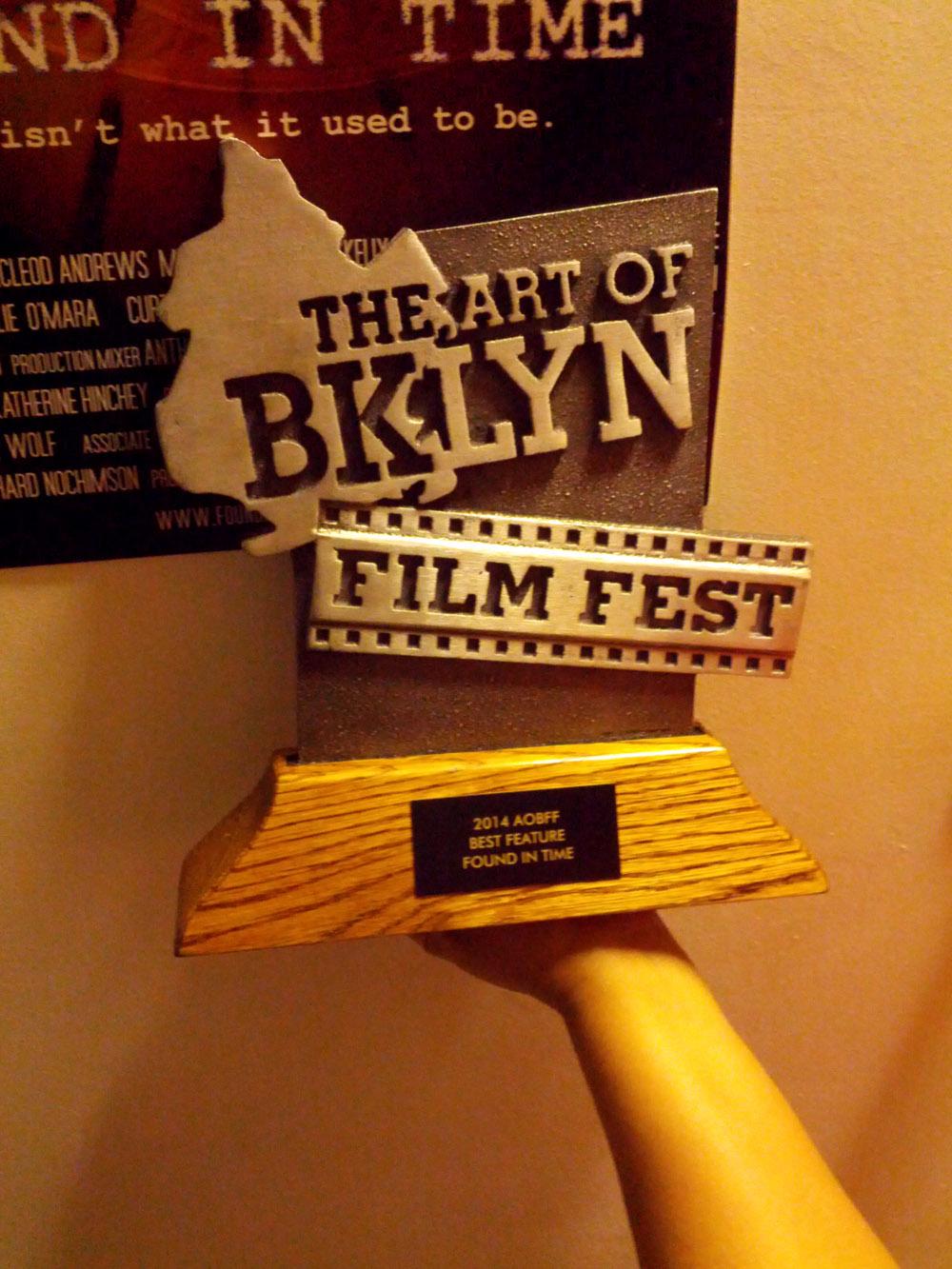 Art of Brooklyn Film Festival - Best Feature!