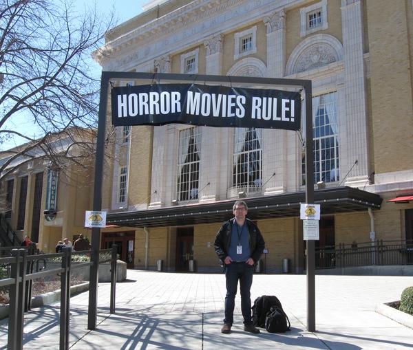 Writer/Director Arthur Vincie at the Nevermore Film Festival!