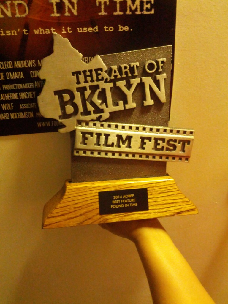 Art of Brooklyn Film Festival Award
